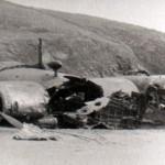 Crashed Junkers JU88 at Praa Sands on June 2nd 1943.