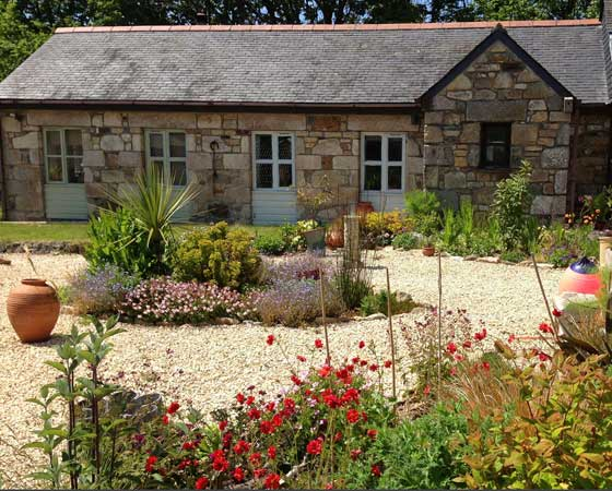 Garden Higher Colenso Cornwall