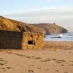Praa Sands WWII Pill Box   The Little Barn Goldsithney Cornwall
